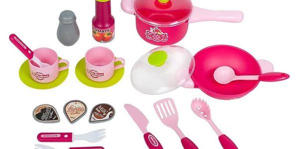 Bayo Velká kuchyňka s dotykovým sensorem + příslušenství Růžová3