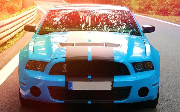 30 min. jako řidič ve voze Mustang GT nebo Camaro SS4