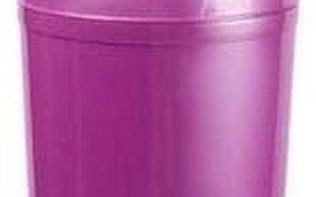 Odpadkový koš SWING TOP 5 l, fialová