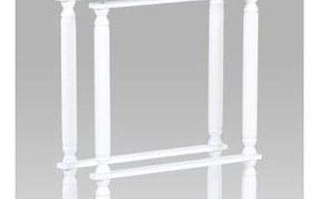 Němý sluha Glenn bílá, 45 x 35 x 108 cm