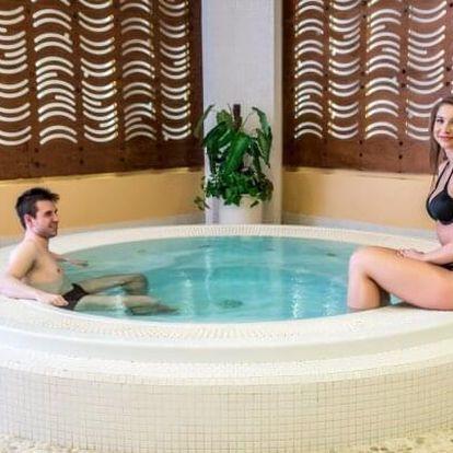 Relax na Moravě v Hotelu Jana **** s neomezeným bohatým wellness, ping pongem a polopenzí