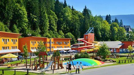 Relaxační pobyt ve Špindlerově Mlýně s neomezeným vstupem do aquaparku pro dva
