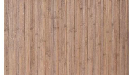 Koupelnová předložka Bamboo, šedo-hnědá