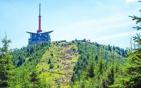 Pobyt na úpatí Lysé hory v Hotelu Ondráš z Beskyd *** v objetí turistických stezek s kulečníkem + polopenze