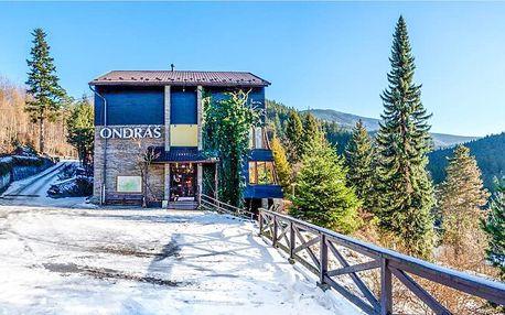 Pobyt na úpatí Lysé hory v Hotelu Ondráš z Beskyd *** v objetí ski areálů s kulečníkem + polopenze
