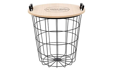 Tempo Kondela Příruční stolek Nando, přírodní