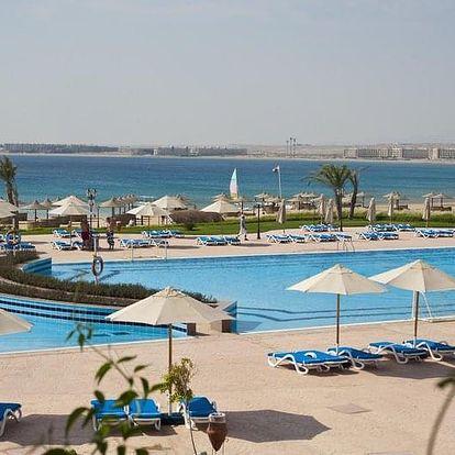 Egypt - Sahl Hasheesh letecky na 8-15 dnů, ultra all inclusive