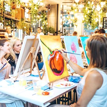 Zážitkový kurz malování pro dva