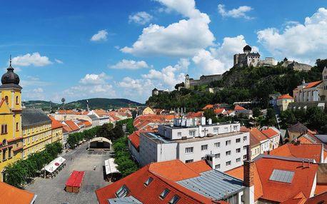 Neomezený wellness pobyt přímo pod Trenčínským hradem