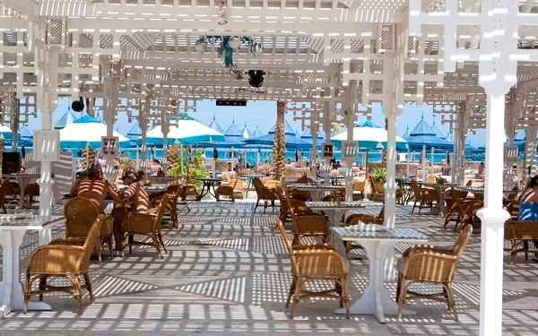 The Grand Hotel, Hurghada, Egypt, Hurghada, letecky, all inclusive2