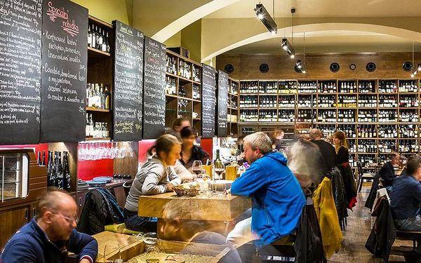 Degustace vína ve Vinografu   Praha   Celoročně.   45 minut.2