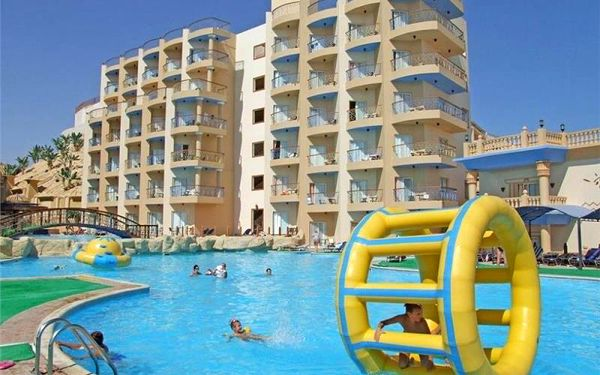 Sphinx Aqua Park Resort, Hurghada, Egypt, Hurghada, letecky, all inclusive