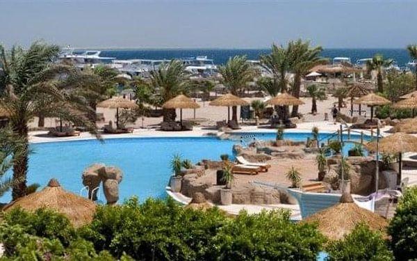 Lotus Bay, Safaga, Egypt, Safaga, letecky, all inclusive4