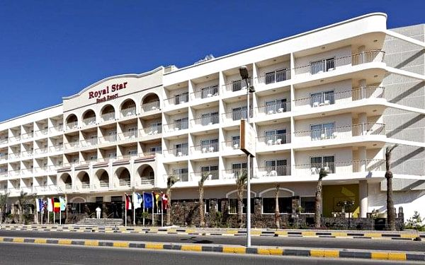 Royal Star Beach Resort, Hurghada, Egypt, Hurghada, letecky, all inclusive