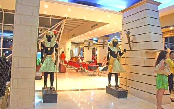 King Tut, Hurghada, Egypt, Hurghada, letecky, all inclusive5