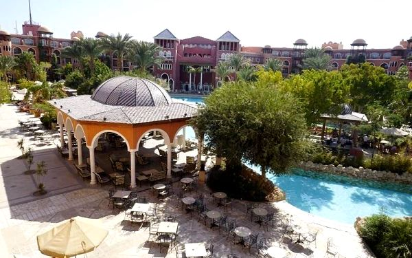 The Grand Resort, Hurghada, Egypt, Hurghada, letecky, all inclusive