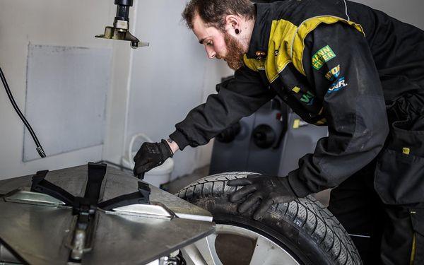 Kompletní přezutí pneumatik na plechovém disku vč. vyvážení a závaží4
