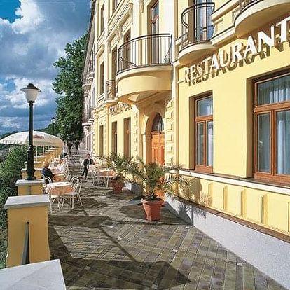 Karlovy Vary na 3-6 dnů, polopenze