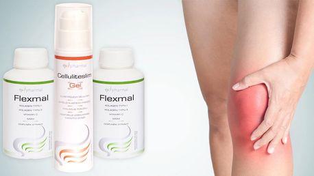 Kloubní výživa a gel na masáž nebo proti celulitidě
