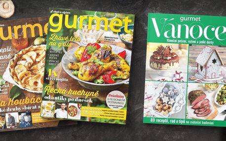 Roční předplatné kulinářského časopisu Gurmet