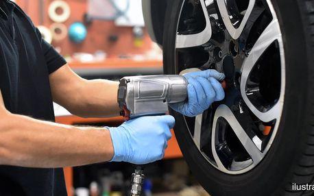 Přezutí pneumatik: plechová i hliníková kola
