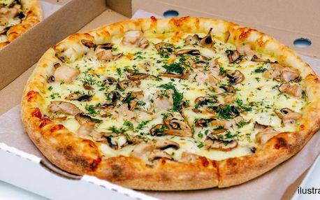 2 pizzy podle výběru z 12 druhů i na rozvoz