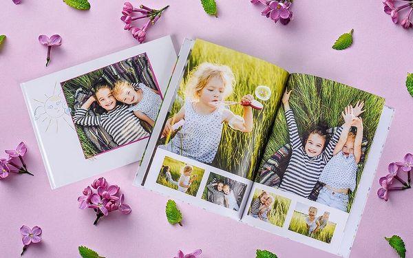Klasická fotokniha A4 - 32 stran, pevná vazba2