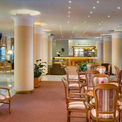 Mariánské Lázně, hotel Centrální Lázně**** s Mariinými lázněmi