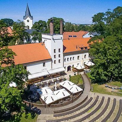 Pivní pobyt se snídaní i masáží v penzionu Hastrman v Praze