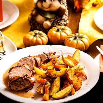 Podzim na talíři: dýňové menu s vepřovou panenkou