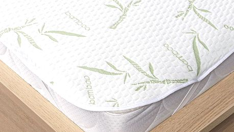 4Home Bamboo Chránič matrace s gumou, 160 x 200 cm