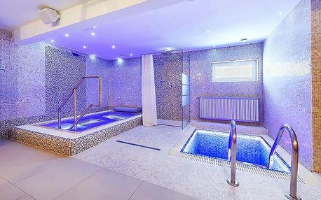 2 hodiny v privátním wellness se saunou a vířivkou v hotelu Marie-Luisa Prague v Praze