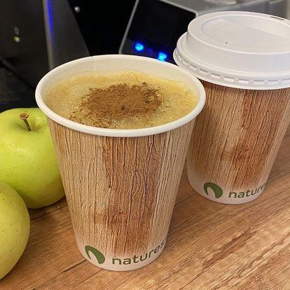 Horká jablečná šťáva se skořicí pro dvě osoby