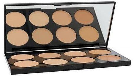 Makeup Revolution London Ultra Cover And Conceal Palette 10 g paletka korektorů pro ženy Light-Medium