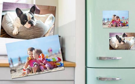 Sady 4 magnetek s vlastní fotografií: 2 formáty