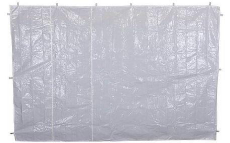 Garthen 6152 Sada dvou bočních stěn pro zahradní stan - bílá - bez oken