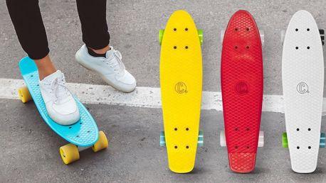 Městské pennyboardy s velkými odolnými kolečky