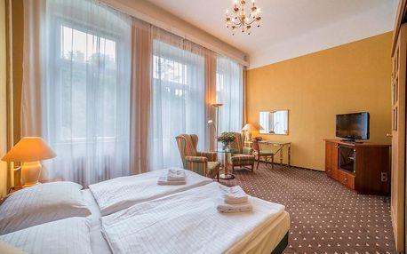 Františkovy Lázně, hotel Luisa*** u lázeňského parku