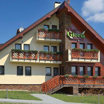 Stylová Villa Gloria *** na Donovalech s wellness