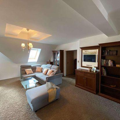 Ubytování v mezonetovém apartmánu s výhledem na Gerlach