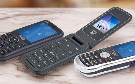 Tlačítkové mobilní telefony Pelitt na 2 SIM karty