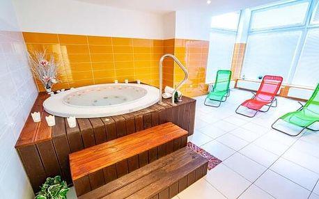 Luhačovice: Relaxační pobyt v Hotelu Harmonie *** se 2 lázeňskými procedurami, fitness centrem a polopenzí