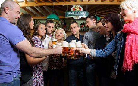 Prohlídka pivovaru Radegast s ochutnávkou