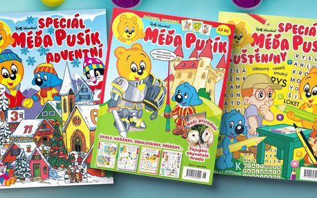 Předplatné časopisu Méďa Pusík a adventní kalendář