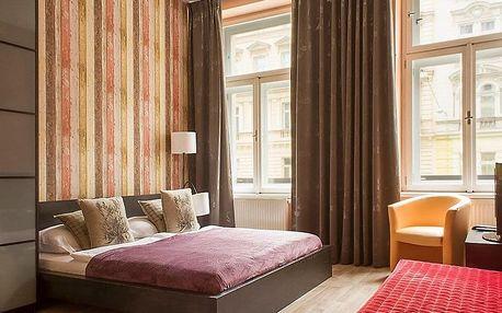 Komfortní ubytování v Royal Court Apartments se snídaní v Praze