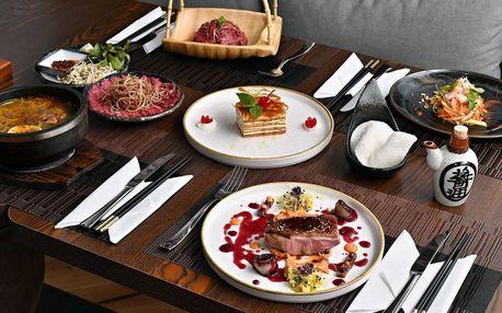 Asie pro dva: vývar, kachní steak i salát a dezert
