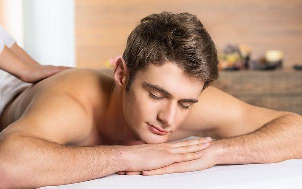 40minutová aromaterapeutická masáž lávovými kameny5