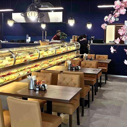 Neomezené hodování: 2 hodiny running sushi