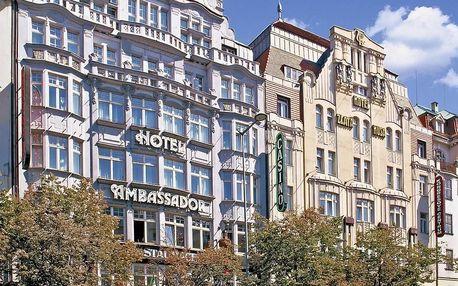 Luxusní 5* hotel v Praze na Václavském náměstí - dlouhá platnost poukazu