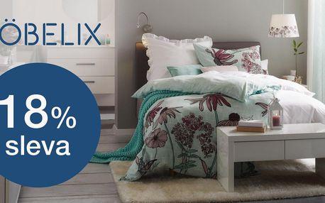 Möbelix: 18% sleva do online obchodu s nábytkem